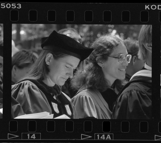 Photographs of the 172nd Commencement ceremony, 1993 May 23