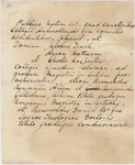 Document regarding the conferral of master's, doctoral, and honorary degrees, 1842