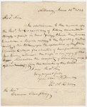 William Alexander Duer letter to Heman Humphrey, 1824 June 12