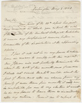 Elijah Hunt Mills letter to Heman Humphrey, 1824 May 3