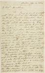 John Gorham Coffin letter to Heman Humphrey, 1824 April 14