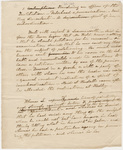 Notes regarding the disciplinary case of Abner Johnson Leavenworth, 1822