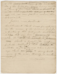 Heman Humphrey draft of commencement address, 1824