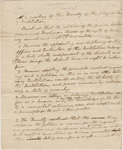 Collegiate Institution faculty resolution regarding the student petition against Lucius Field, 1822