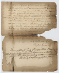 Rufus Graves oath to be the financier of the Charity Fund, 1819 July 9