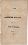 Laws of Amherst Academy, for the use of the students