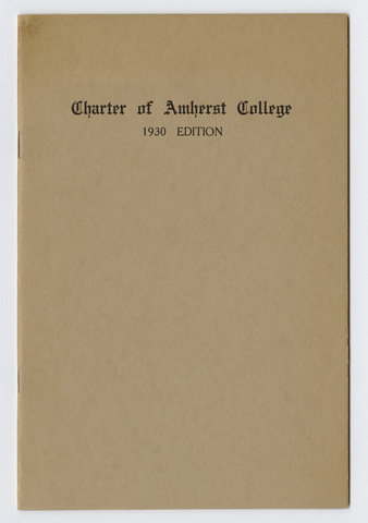 Charter of Amherst College