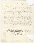 Alpheus Hardy and Henry Edwards letter to unidentified recipient, 1863 June 1
