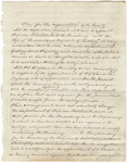 Joseph Vaill draft of a plan for the organization of the faculty