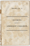 Documents relating to Amherst College, House No. 11