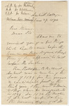 William Seymour Tyler letter to William Augustus Stearns, 1874 June 29