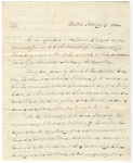 Lewis Strong letter to George Bliss, 1832 February 9