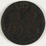 Bronze medal awarded to Jeffery Amherst, 1789