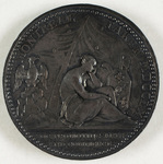Silver medal commemorating the capture of Montreal, 1760