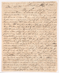 Sidney Brooks letter to Obed Brooks, Jr., 1838 February 3