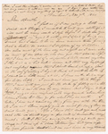Sidney Brooks letter to Obed Brooks, 1840 November 7