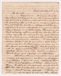 J.M. Manning letter to Sidney Brooks, 1848 February 28
