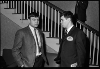 Photographs of fraternity rush events, 1966 March 19