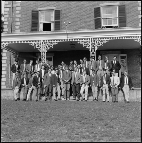 Photographs of Delta Kappa Epsilon and Kappa Theta, 1966 May