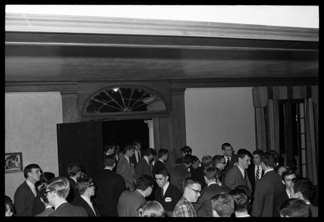 Photographs of Chi Phi and Beta Theta Pi rush events, 1966 March 18