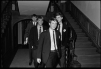 Photographs of Chi Psi rush event, 1966 March 18