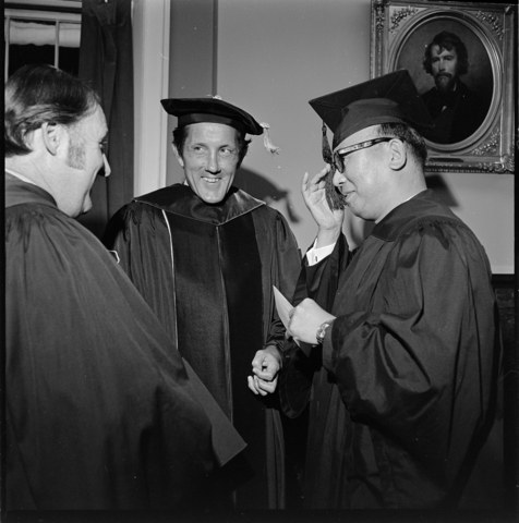 Photographs of Convocation, 1972 September 9