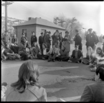 Photographs of an anti-war sit-in at the Westover Air Reserve Base, 1972 May 10
