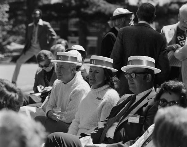 Photographs of the Annual Meeting of the Society of the Alumni, 1973 June 2