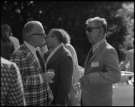 Photographs of reception with President John William Ward, 1973 June 2