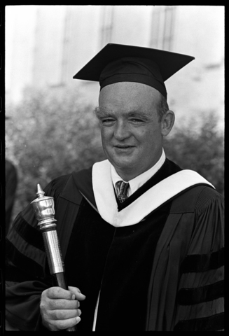 Photographs of Senior Class Exercises and honorary degree awardees, 1968 June 6 and June 7
