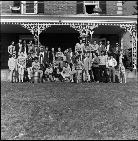 Photographs of Phi Gamma Chi and Delta Kappa Epsilon, 1967 April